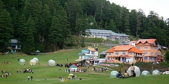 Dalhousie Dharamshala Tour Package From Delhi  by Train